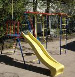 Уличный детский спортивный комплекс Пионер-Морячок дачный